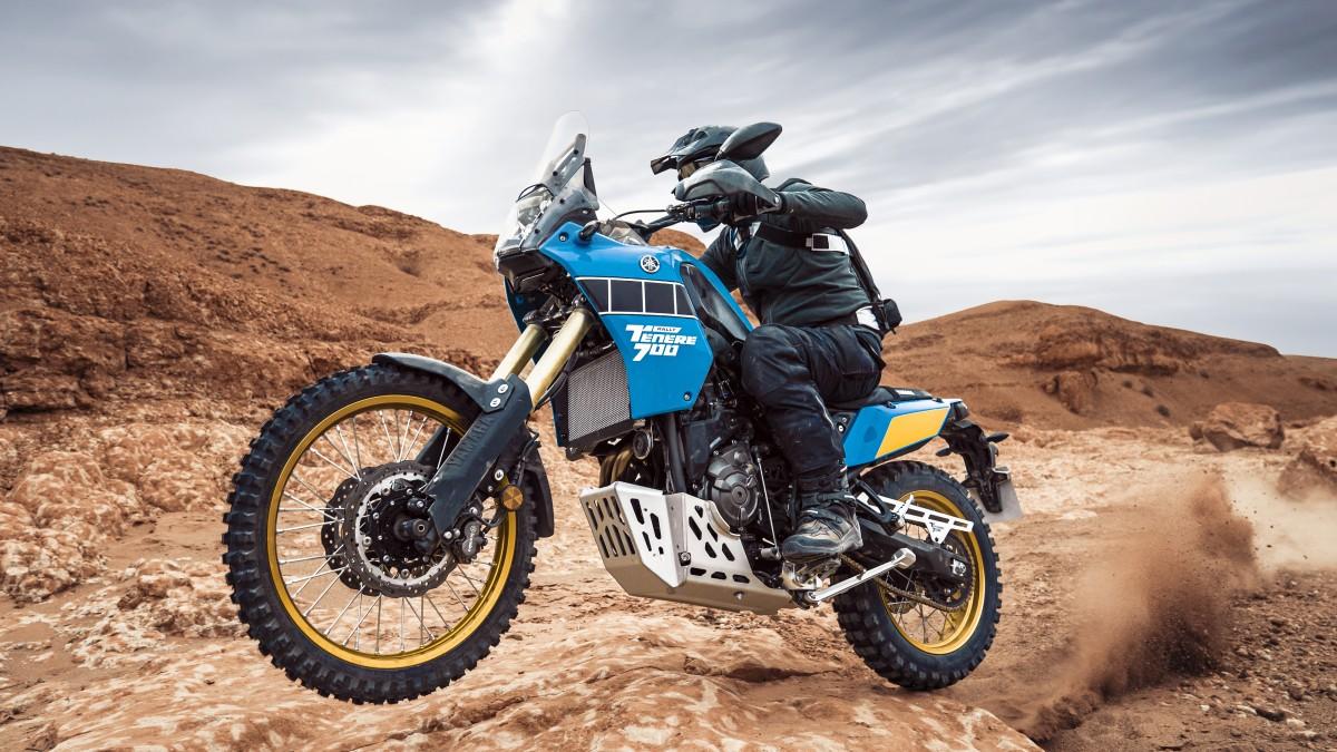 Yamaha Ténéré 700 Rally Edition nabídne klasické barvy z rallye Dakar a lepší ochranu i výbavu