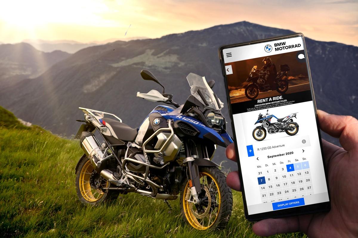 BMW rozšiřuje svoji půjčovnu RENT A RIDE. Motorky, příslušenství a další vám brzy půjčí ve 12 evropských zemích