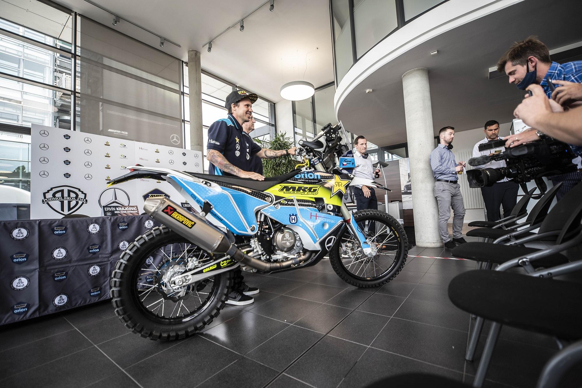 Podmol je připravený bojovat na Dakarské rallye. Pojede včeském týmu MRG