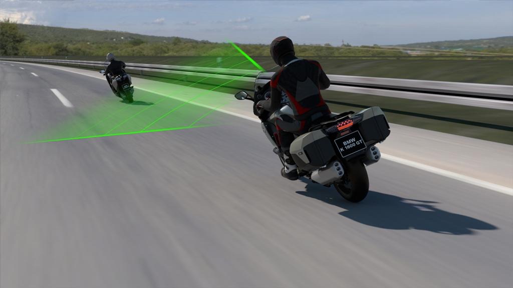 Nový aktivní systém pro udržování rychlosti BMW Motorrad