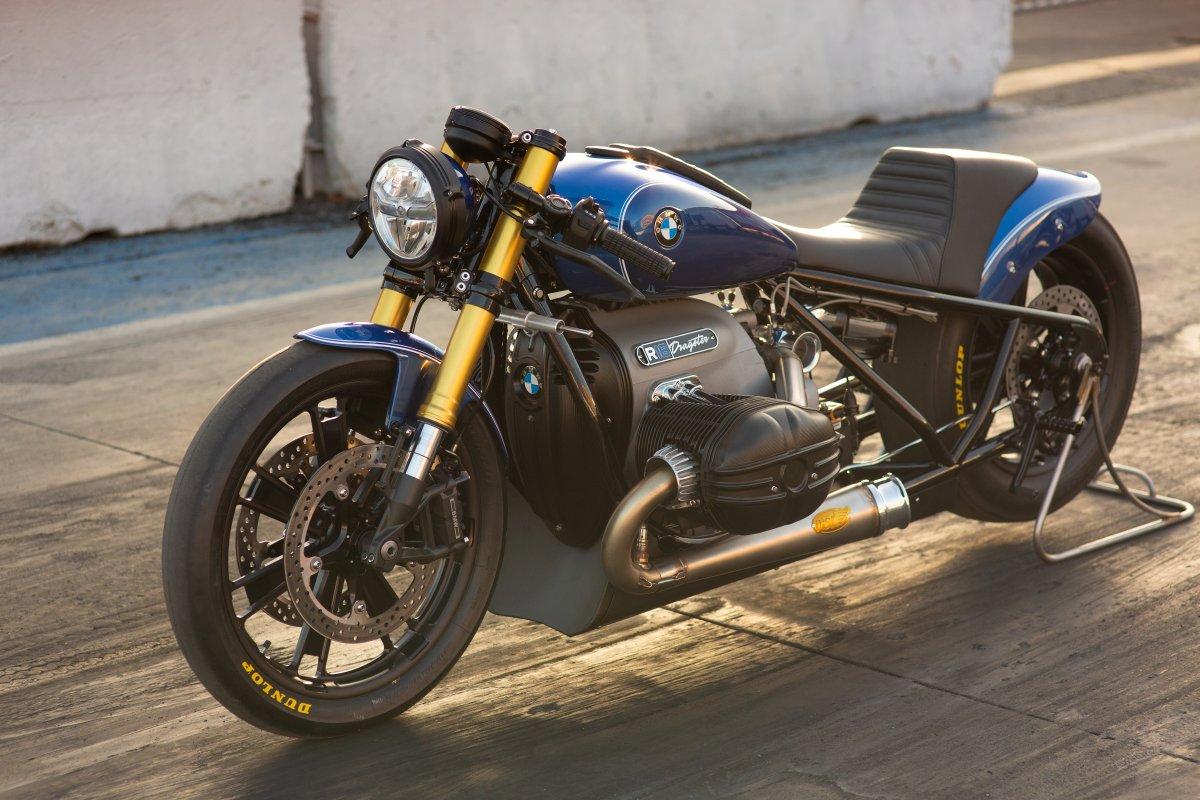 BMW Motorrad představuje R 18 Dragster. Stavbu má na svědomí slavný tvůrce customů Roland Sands