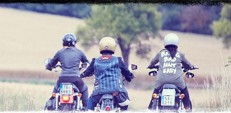 Ladies Ride Camp, dámská jízda na motocyklech. Již tento víkend