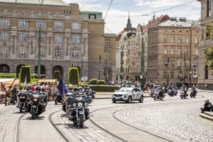 Spanilá jízda odstartuje sobotní program Prague Harley Days