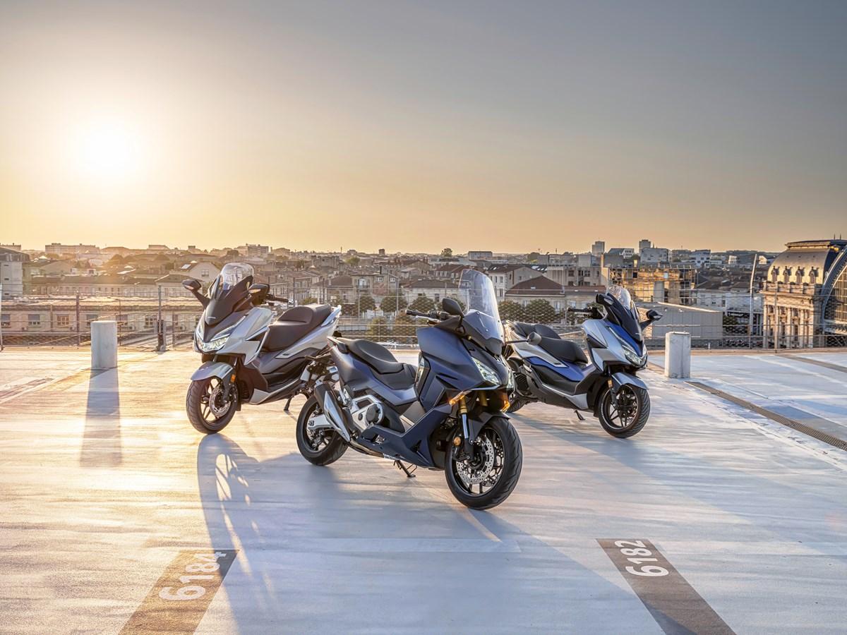 Řada skútrů Forza Honda se pro rok 2021 rozrůstá o Forzu 750 a Forzu 350
