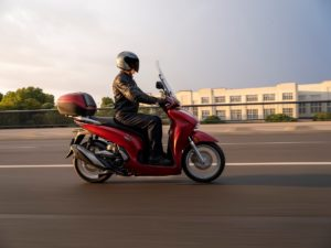 Honda SH350i se představuje pro nový modelový rok 2021