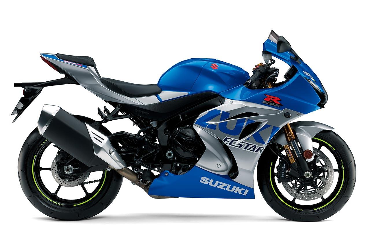 Limitovaná edice Suzuki GSX-R1000 a GSX-R1000R v barvách závodního speciálu
